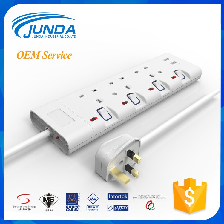 Wholesale price different types korea EU/US/UK electrical socket outlet usb switch and socket