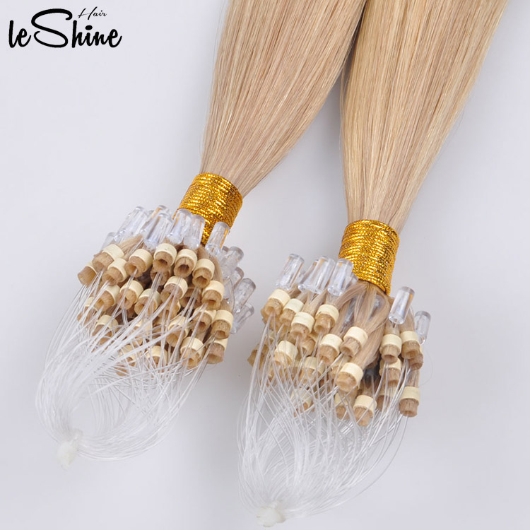 100% billige Körperwelle Remy Micro Loop Hair Extension