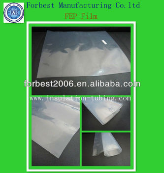 Clear class A FEP film in 0.1mm thickness