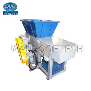 PP PE Film Recycling One Shaft Plastic Bag Shredder