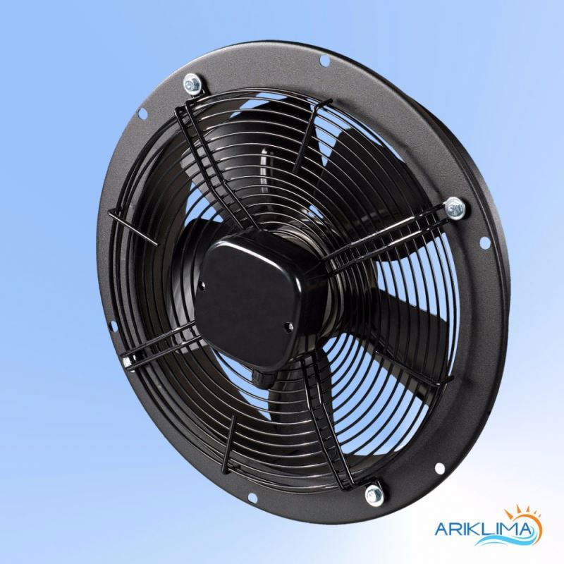 Low pressure ventilation jet fan for tunnel for outdoor mounting RING-OK