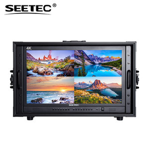 4K UHD Multi-Format 24 inch high resolution monitor for TV news production