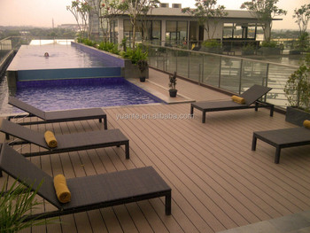 Water proof and durable garden outdoor wpc eco decking