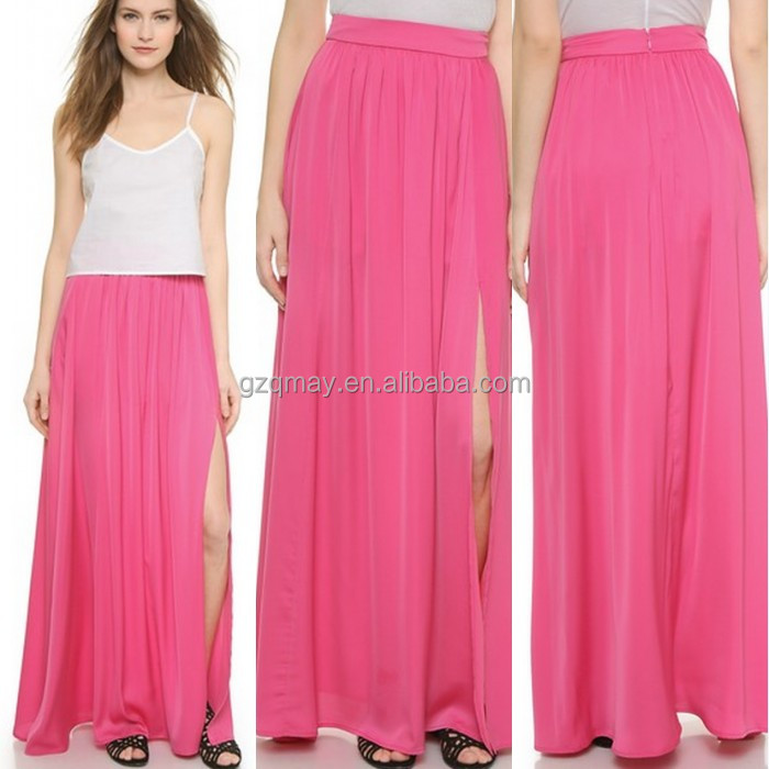 Pictures Of Long Skirts And Tops Silk Chiffon Skirt And Blouse ...