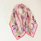 Designer Brand Wholesale New Hand Painted Twill Silk Scarf Malaysia