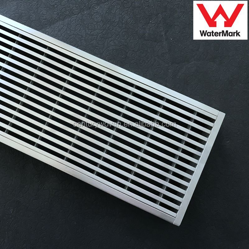 Stainless Steel 304 316 bathroom and swimming pool floor drain wedge wire grate