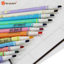 1pcs Highlighter Double Head Diamond Discoloration Magic Fluorescent Pen Markers Gift Stationery