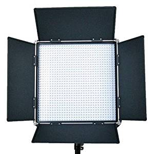 Came-TV L1024SB8 High CRI 1024 Dimmable Studio Broadcast Video Bi-Color LED Light, Includes 100-240V Worldwide AC Adapter, Soft Diffusion Panel, Carry Bag
