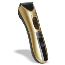2017 New Fashion Rechargeable Hair Trimmer Cordless Wall Hair Clipper With LCD Display