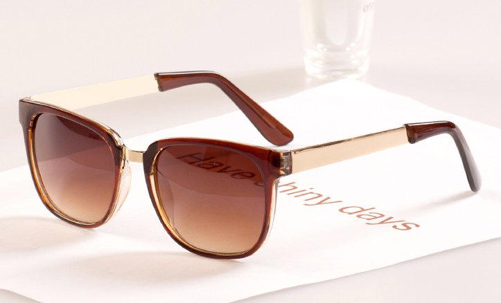 6993a11d50 Get Quotations · Round Square Frame Metal Leg Sunglasses 2015 The New  Fashion Women Sun Glasses Flat Oculos Sonnenbrille