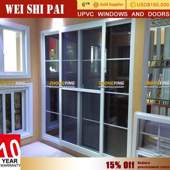 Frameless Exterior Patio Balcony Sliding Doors , Interior 4 Panel Louvered  French Doors Sliding
