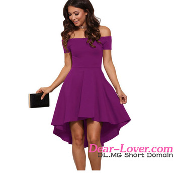 Rosy Skater Dress Women Sexy Prom Full Sexy Photos Wholesale - Buy ... 2a454b0ca