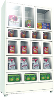 Factory directly supply inexpensive floor standing extra vending box