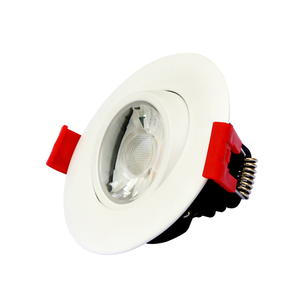 3 Inch Dimmable Adjustable Gimbal Recessed 120V led mini downlight