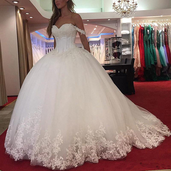 Ne167 Wedding Dress For Bride Vestido De Noiva Manga Longa 2018 Off ...