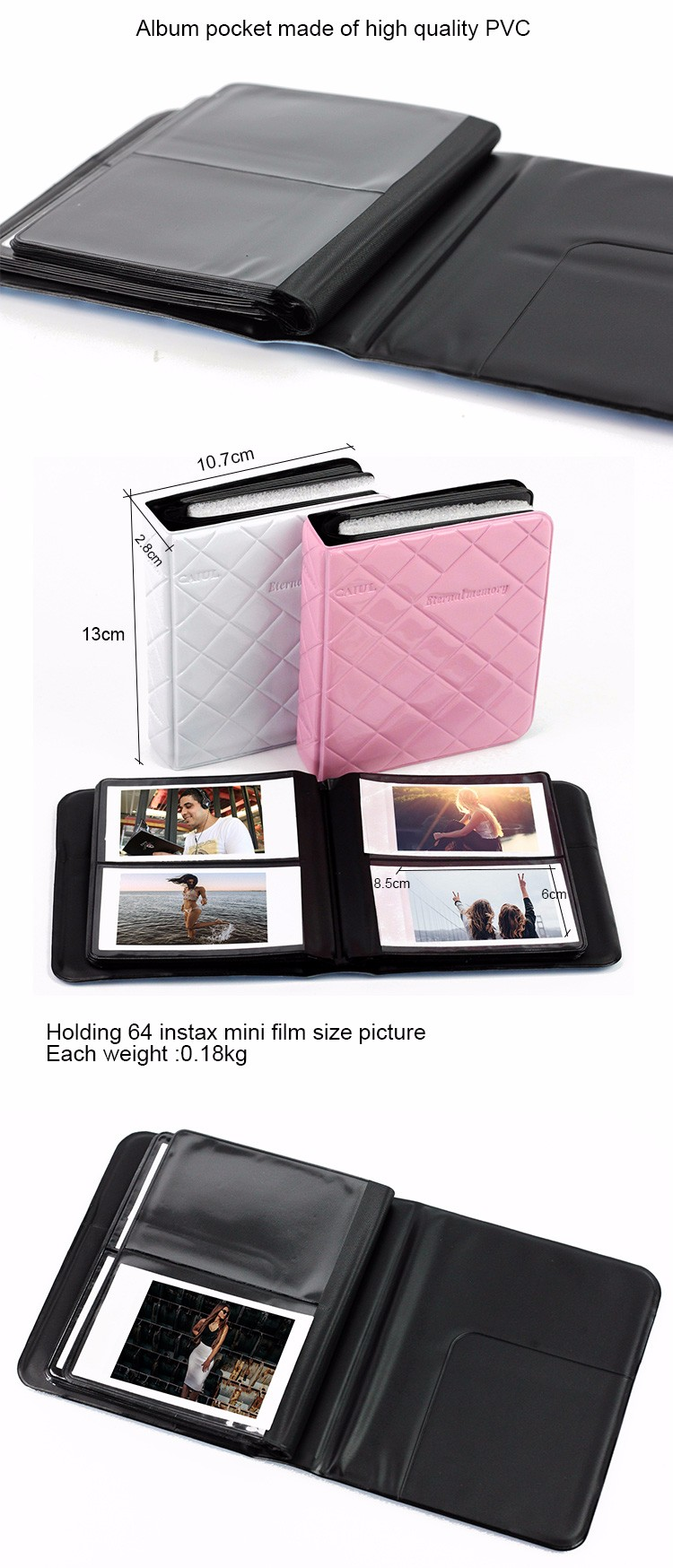 Fujifilm Mini7s 8255090 Pringo P231 3 Inch Korean Style Wallet