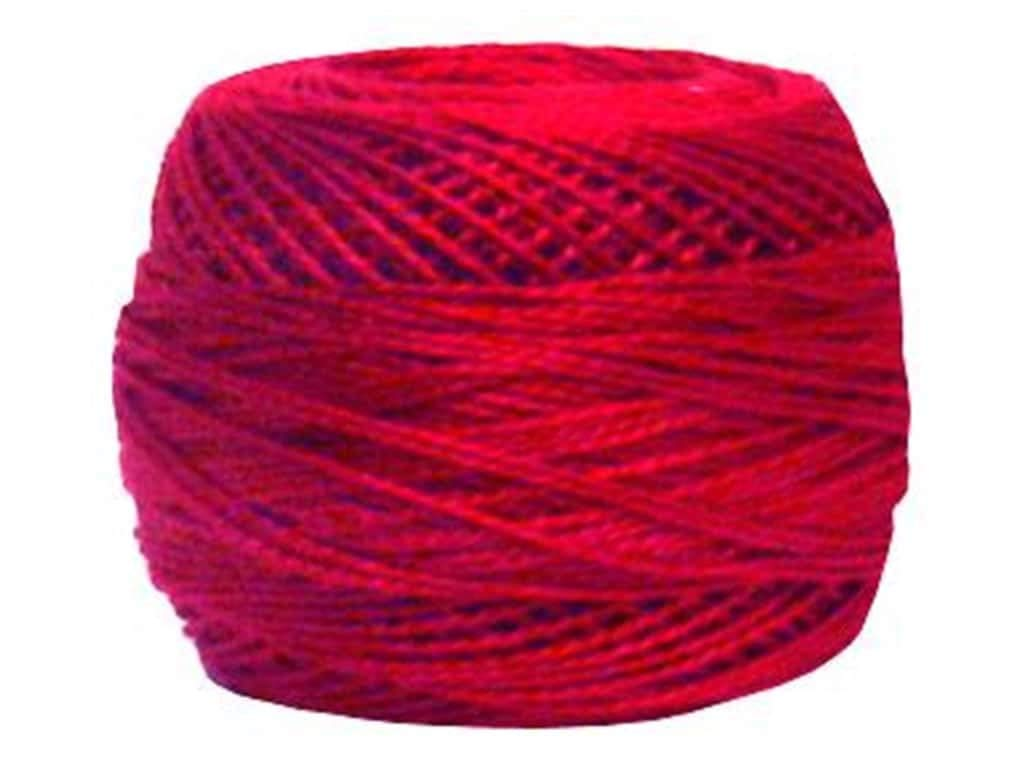Bulk Buy: DMC Thread Pearl Cotton Balls Size 8 95 Yards Dark Red 116 8-498 (10-Pack)
