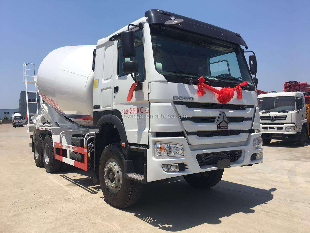 HOWO 10m3 Cement Mixer Truck 336HP 6*4 Concrete Truck For Sale