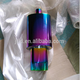 JTLD High Performance Auto Parts Stainless Steel Rainbow color Exhaust Muffler