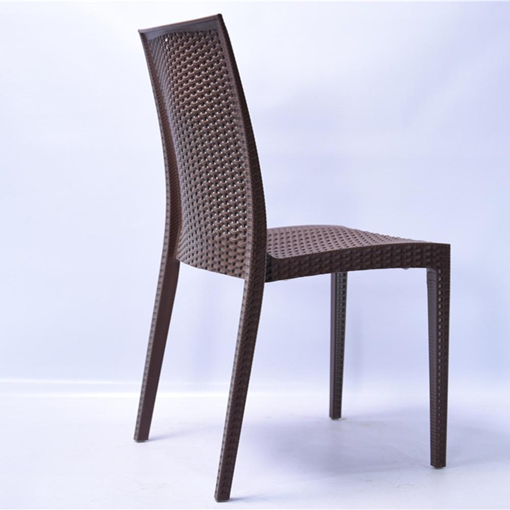 Cheap Wicker Dining Chairs: Wholesale Modern Garden Cheap Plastic Rattan Dining Chair