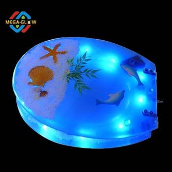 Led Blauw Licht Wc-bril,Hete Verkoop Badkamer Accesary Wc-bril ...