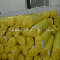 Fire resistant & retardant glass wool roll/blanket/pipes