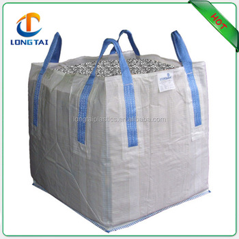 Factory price 1000kg bulk bags standard dimension UV treated, construction use 90x90x120cm big bags