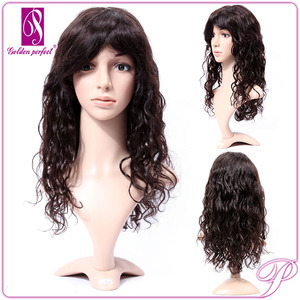 Remy Human Hair Thin Skin Top Lace Full Lace Wig With Baby Hair