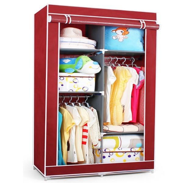 S7 alta calidad y barato portátil dormitorio armario armarios mueble ...