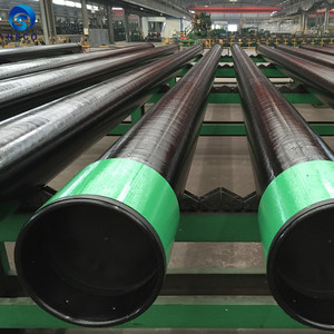 API 5CT J55 N80 L80 C90 P110 material drilling pipe with LTC STC BTC connection