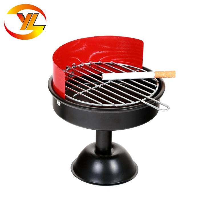 14inch indoor Charcoal BBQ Grill, Mini Charcoal BBQ, simple Charcoal bbq grill