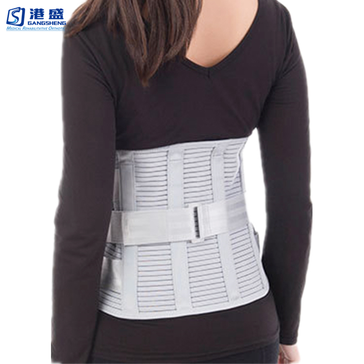 Lumbar Sacral Back Brace Lumbosacral Corset Spinal Orthosis Support Belt  Brace, View lumbar brace, GS or OEM Product Details from Hengshui Gangsheng