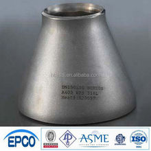 carbon steel butt weld seamless pipe fittings Reducer