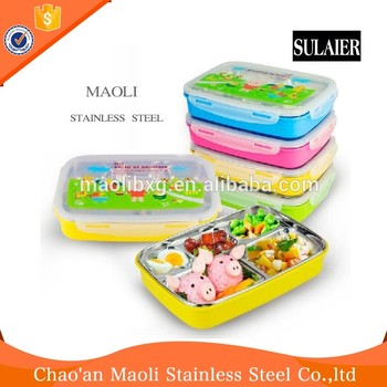 Pollution Free Hot Lunch Box Keep Food Insulated Container For
