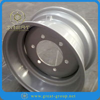 Boat trailer wheel 12