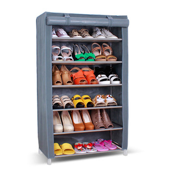 6 Tire Nonslip Fabric Frame High Heels Shoes Rack For Sales Buy