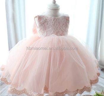 12c9dd34ac642 Newborn Baby Girls Princess Baptism Dresses Pink Color Toddler Dresses For  1 Year Old Girl - Buy Toddler Dresses,Toddler Dresses For 1 Year Old ...