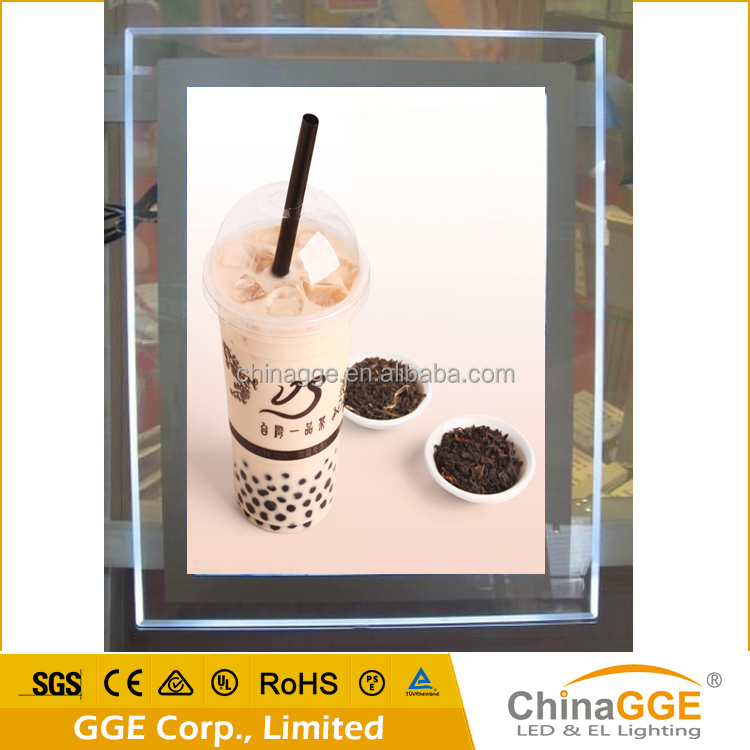 Movie Poster Display Battery Powered Led Picture Frame Light Box ...