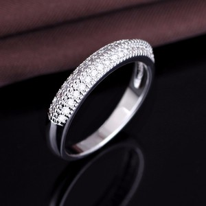 China Photo Jewelry Wholesale Silver 925 CZ Ring Finger Rings Wholesale