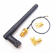 3dBi Gain Swivel Type External Wifi 2.4G Rubber Antenna with SMA Male Plug Connector for Wireless Router/WLAN PCI Card