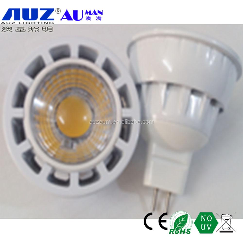 warm white cool white 12v 7w GU5.3 led mr16 gu5.3