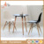 Hot sell MDF restaurant table and chairs Italy design dining table for cafe