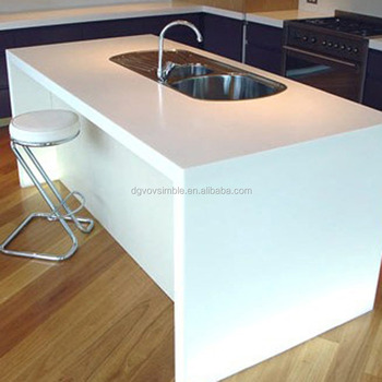 Acrylic Resin Solid Surface Polished Concrete Countertops