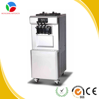 Wholesale factory price 3 mixed flavours mobile used soft ice cream machine for sale