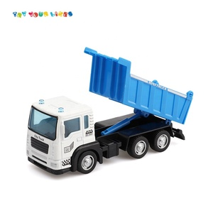 New Style Kids Play Die Cast Mini Truck Set Plastic Pull Back Tool Truck Toy