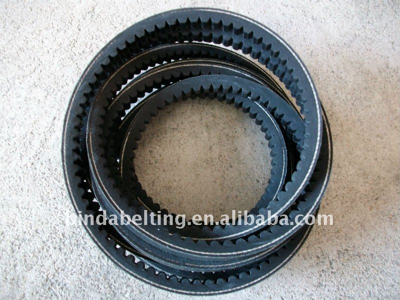Denta rubber v belts