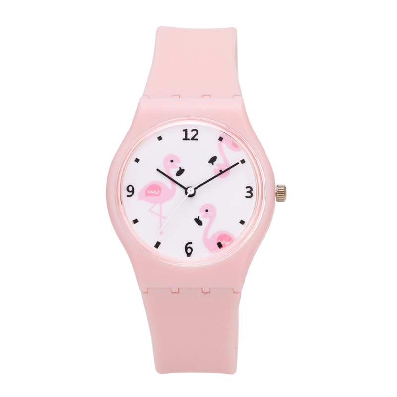 싼 실리콘 아이 watch room18cm 생활에 quartz movement watches 방수 3 atm