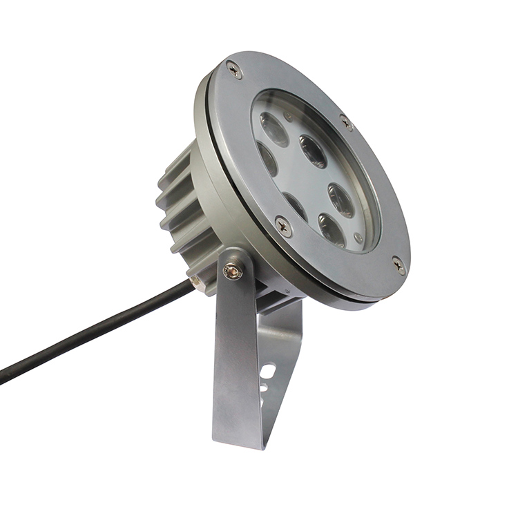 Outdoor ip67 CE ROhs RGB 12v LED garden Spot light 6W