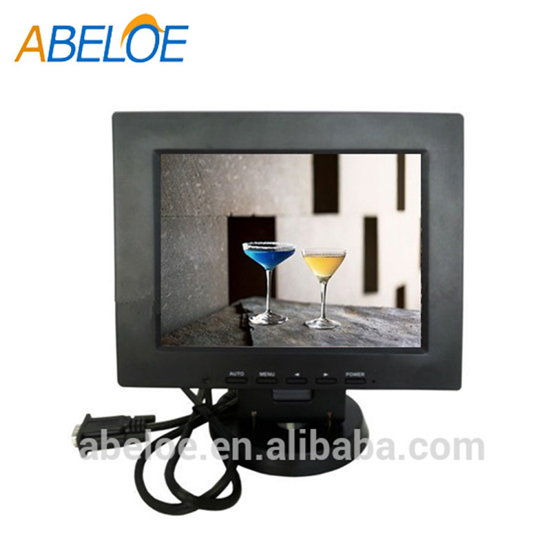 8 inch LCD monitor with VGA HD-MI BNC for industry / CCTV