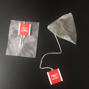 Food grade 160 micron empty nylon pyramid tea bag filter mesh bags